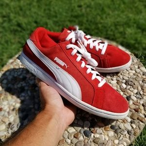Puma Lace Up Sneakers - mens size 10